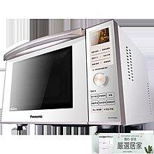 微波爐 NN-DF366W微波爐家用多功能變頻智慧平板23L燒烤220V MKS【嚴選居家】