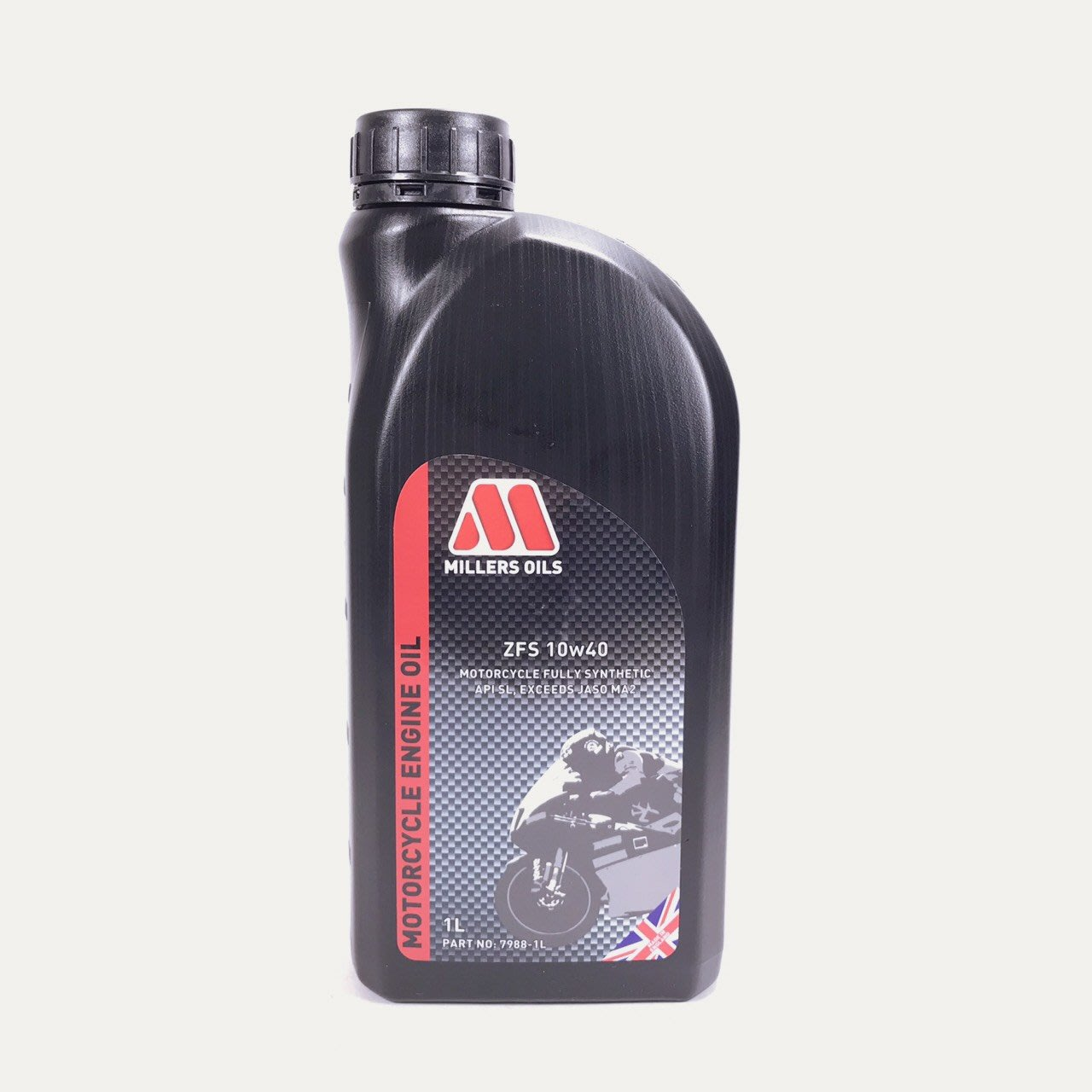[機油倉庫]附發票MILLERS ZFS 4T 10W-40 10W40全合成機油 機車機油 英國原裝