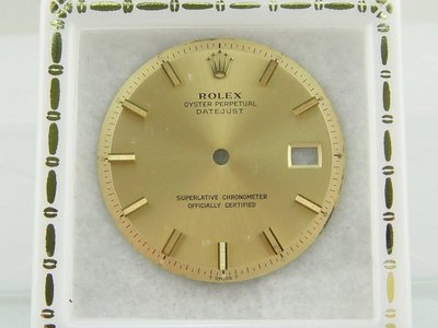 【發條盒子L06】Rolex 勞力士 原廠未翻寫面板 適用1601 1603 1600