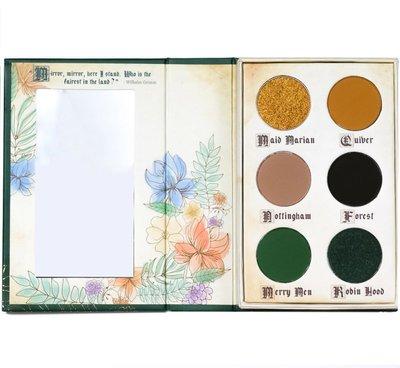 (現貨在台)Storybook cosmetics Robin Hood  眼影盤
