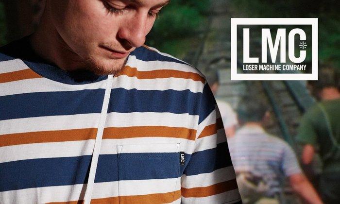 GOODFORIT / 美國Loser Machine Alden Knit 80年代滑版風情復古條紋上衣