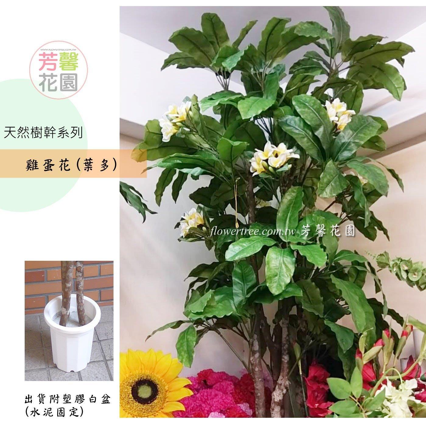 【☆芳馨花園☆】人造樹~6尺雞蛋花樹盆栽(葉多)【G03020】南洋自然風格,景觀造景 園藝布置