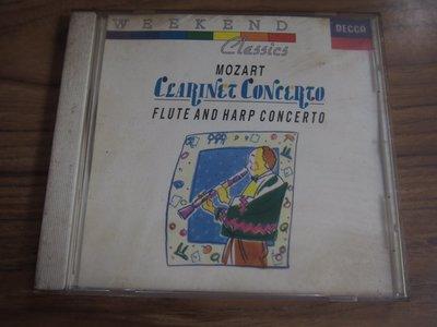 ◎MWM◎【二手CD】Weekend Classics- Mozart Flute Concertos 無ifpi, 片