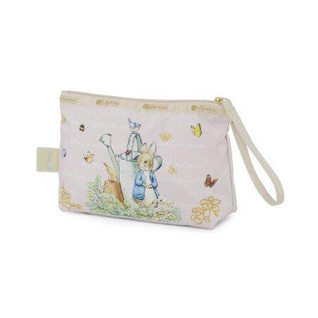 ♥ 小花日韓雜貨 ♥ --特價 Lesportsac 8236 Peter Rabbit彼得兔款手拿化妝包收納包