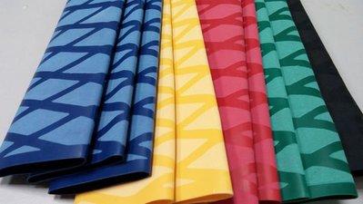 45mm花紋彩色防滑熱縮管-50cm,100cm長(釣竿.網球拍.羽毛球拍均適用)