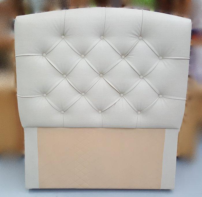 宏品二手家具館 台中柚木賣場 B60616珍珠白3.5尺床頭片/ 床頭櫃*2手家具拍賣床組 床箱 衣櫥 斗櫃 化妝桌