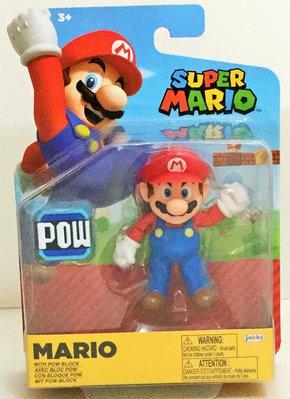 現貨 正版Nintendo任天堂4吋公仔-Super Mario超級瑪利歐