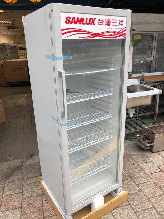 *大銓冷凍餐飲設備*【新】三洋300L冷藏玻璃展示櫃 免運費 實體店面多種尺寸歡迎詢問