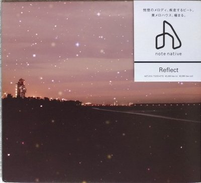 《絕版專賣》note native / Reflect (日本版.側標完整)