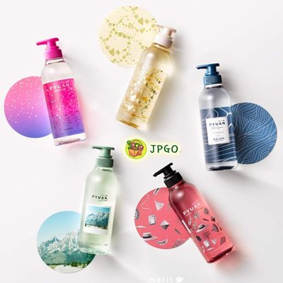 【JPGO】日本製 花王 KAO merit Pyuan 全新設計 純漾 頭皮養護 洗髮精.潤髮乳 425ml 多款