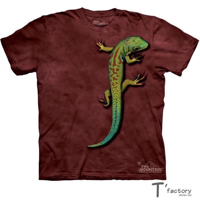 【線上體育】The Mountain 短袖T恤 L號 蜥蝪