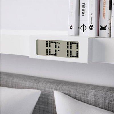 正品IKEA宜家維奇斯鬧鐘書架電子鐘創意鬧鐘數字時鐘靜音鬧鐘