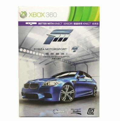 【二手遊戲】XBOX360 XBOX 360 極限競速4 FORZA MOTORSPORT 4 中文版【台中恐龍電玩】