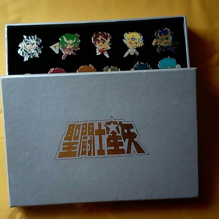 聖鬥 士星矢-日版黃金聖衣12個+新生青銅聖衣5個 全新未使用 盒子極新