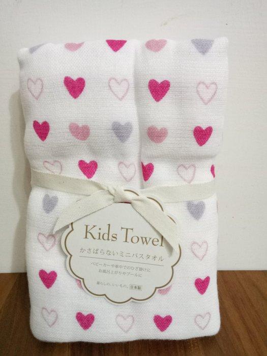 天使熊雜貨小舖~日本帶回kids Towel紗布巾  47×100cm  日本製  全新現貨