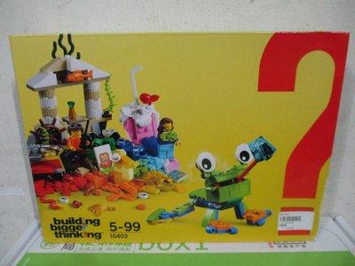 1戰隊LEGO樂高週年60周年紀念顆粒Building Bigger Thinking系列世界歡樂積木公仔四佰五一元起標