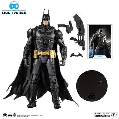 [代購] 麥法蘭 MCFARLANE DC MULTIVERSE 7吋 蝙蝠俠 BATMAN 阿卡漢騎士款
