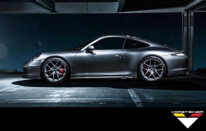 【樂駒】Vorsteiner Porsche 991 Carrera carbon 碳纖維 改裝 外觀 空力 前下巴