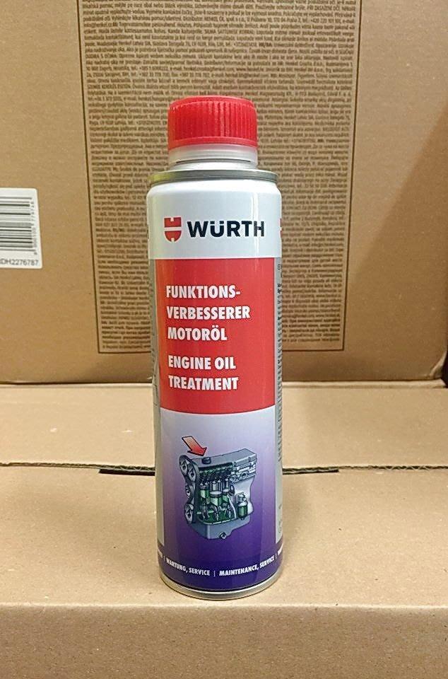四罐超取免運【高雄阿齊】福士 WURTH Engine Oil 高效能機油提升劑 機油精 5861 300 300