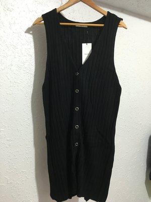 日本帶回 MOUSSY 黑色 長版 背心 多層次搭配 喜歡 SLY BEAMS RIENDA UR 參考