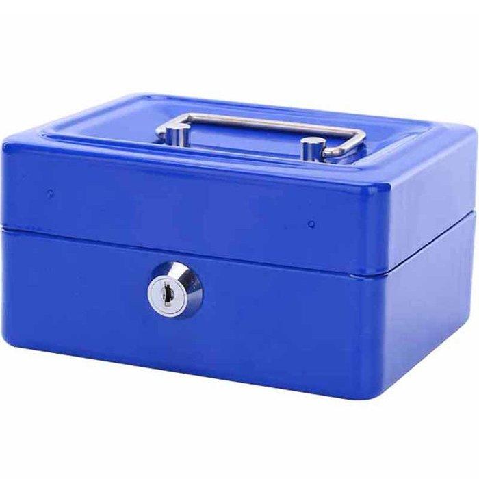 奇奇店-迷你帶鎖收納盒小鐵盒子大號金屬保險箱雜物盒密碼鐵箱子桌面雜物