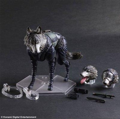 James Room#正版代理 PLAY ARTS改 潛龍諜影V 幻痛 鑽石狗 軍犬 D-DOG