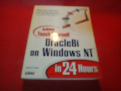 【愛悅二手書坊 10-41】Teach Yourself Oracle8i on Windows NT in 24-
