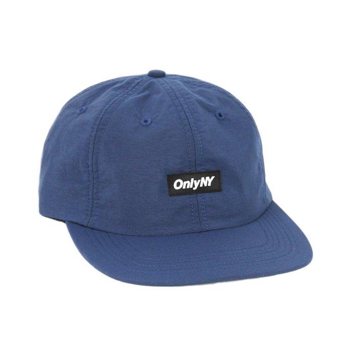 { POISON } ONLY NY TECH POLO HAT  日本棉混面料調節帶老帽棒球帽 美國製 藍