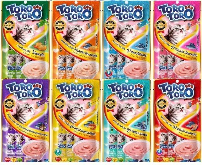 SNOW的家【12包超取免運組】ToroToro寵愛肉泥包15g*5