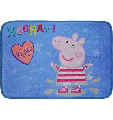 正版授權佩佩豬粉紅豬小妹 踩水泥 地墊腳踏墊