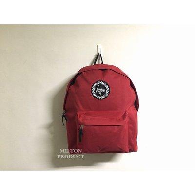 HYPE RED BACKPACK 熱情紅經典豔紅色後背包 英國品牌帶回 男生女生包包書包