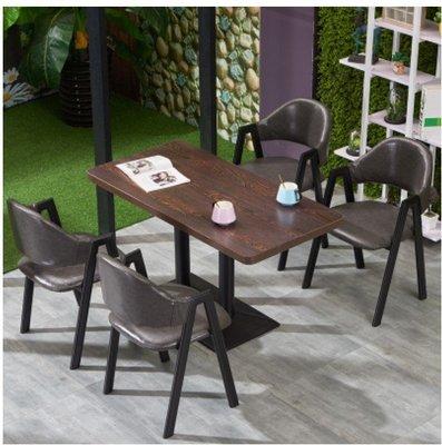 家用商用1桌4椅姐合家用餐枱 商用餐桌 Coffice shop 包郵19