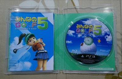 PS3  全民高爾夫 5 BEST 亞日版(編號27)