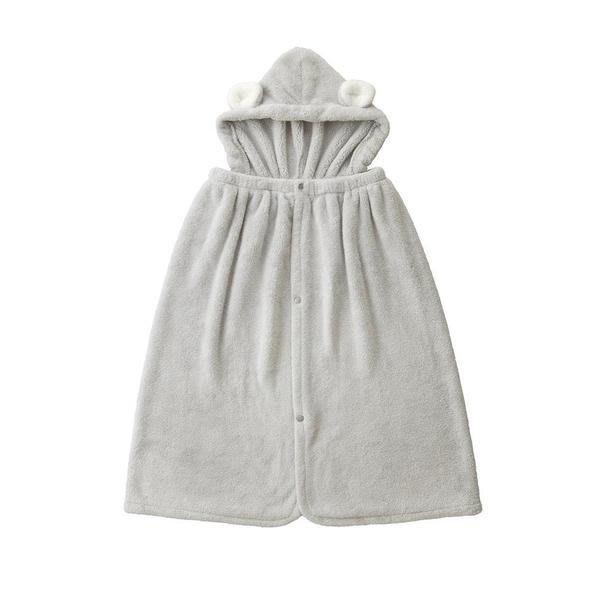 日本 HOODED TOWEL 日本帶回 吸水速乾 2WAY 連帽浴巾 浴巾 毛巾 可愛帽子 大人小孩皆可用