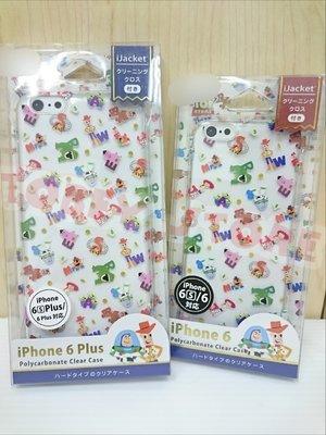 玩具總動員 皮克斯 胡迪 巴斯光年 透明 蘋果Apple iphone6/6s 手機殼/手機套