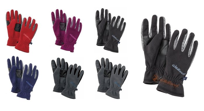 Wildland 荒野 中性防風保暖翻指手套 機車手套 防寒手套 保暖手套 刷毛手套 旅遊登山拍照方便 W2011