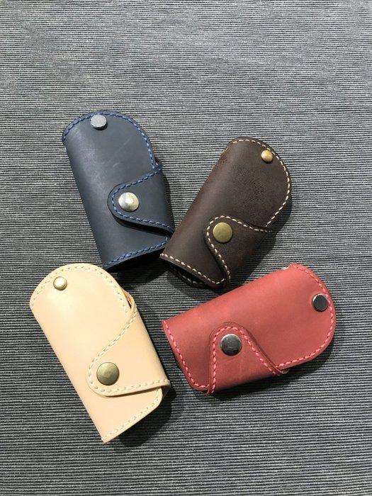 【IAN X EL】真皮汽車鑰匙包 純手工皮件