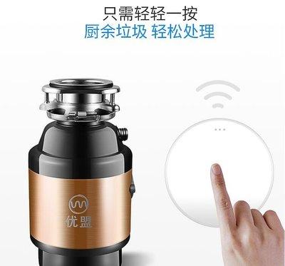 【全館免運】食物垃圾處理器 220V廚...