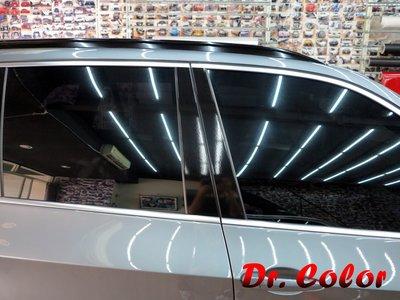 Dr. Color 玩色專業汽車包膜 BMW X5 高亮黑_B柱