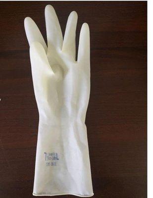 牛筋手套加厚乳膠橡膠膠皮洗碗防水耐用家務清潔廚房洗衣服勞保-奇妙世界Al免運 新品