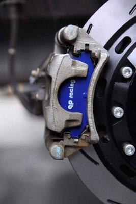 總代理 SUPER SENTRA JUKE X-TRAIL 后碟 qp racing 藍色山道競技版來令片一組4000元