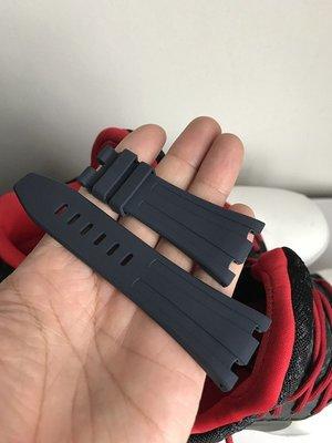K_k strap ~ AP 膠帶 藍色 原廠款 42mm離岸型 配M扣款 28MM收20mm寬度,尾部收小