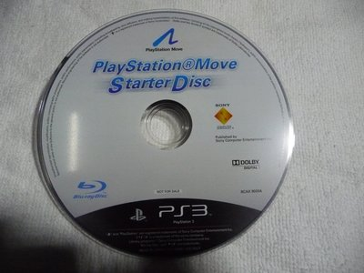 [無殼光碟]I  PS3 PLAYSTATION MOVE STARTER DISC  藍光片