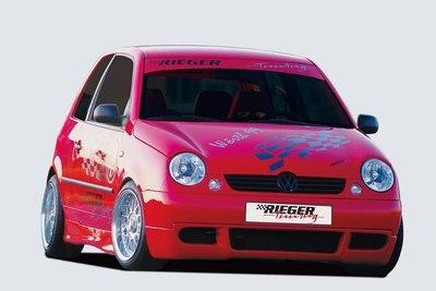 【瓦仕實業】VW LUPO 德國 Rieger 珍藏老車回春組(前下擾流裙+側群組)