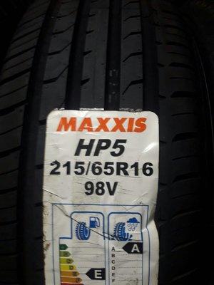 MAXXIS HP5 215-65-16 基隆市