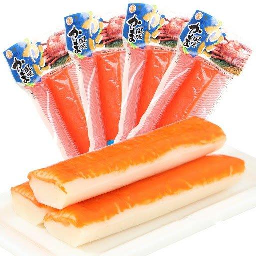+東瀛go+ 丸玉水產 真空蟹肉條 魚漿製品45g 蟹肉棒 蟹條 蟹肉 方便攜帶 嘴饞好選擇  擠出就能吃