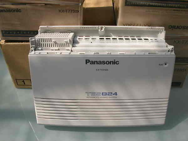 電話總機專業網...國際牌TES-824+6台12鍵顯示型話機7730...專業完善的保固