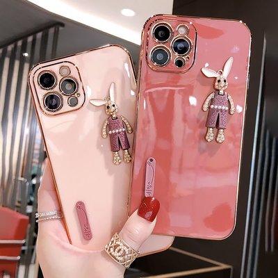 iPhone11promax手机壳女款卡通兔子苹果12promax保护套mini防摔壳【3月10日发完】