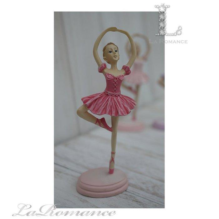 【義大利 Cupido & Company 特惠系列】 桃紅色芭蕾舞女擺飾 (手畫圈) / 童趣人物