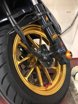 DJD19090619 三陽 JET S 125 VS鋁合金鍛造輪框